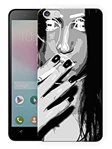 "Humor Gang Girl Next Door Printed Designer Mobile Back Cover For ""Huawei Honor 4X"" (3D, Matte Finish, Premium Quality, Protective Snap On Slim Hard Phone Case, Multi Color)"