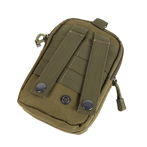 Shiningup Compact Multipurpose Molle EDC Utility Beutel Werkzeuge Taille Tasche mit Handy Holster Halter Grün