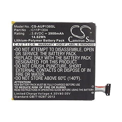 cellePhone Akku Li-Polymer für Asus MeMo Pad HD7 ( ersetzt C11P1304 ) - 3900 mAh (Asus Memo Pad Hd 8)