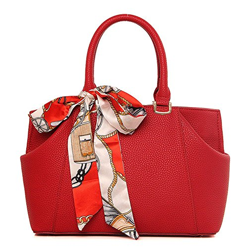 VOLSGEAT Borsa Messenger, Red (rosso) - 9EAC Red