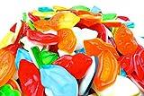Caramelle Gommose Labbra Morbide Bicolore Senza Glutine Fini Kg 1