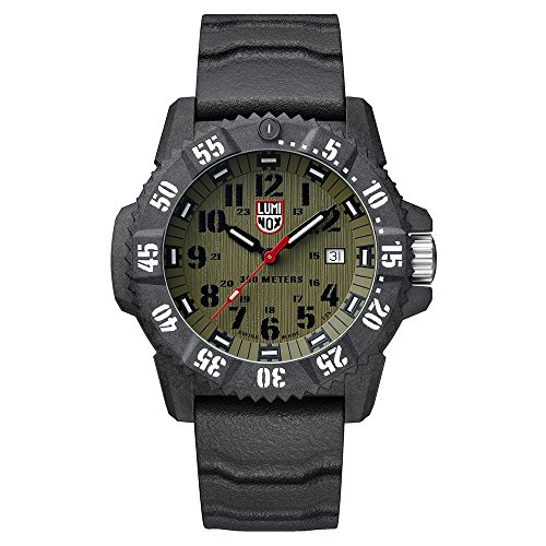Luminox Reloj Analógico para Hombre de Cuarzo con Correa en Caucho XS.3813.L