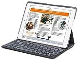 Logitech Canvas Bluetooth Nero di Carbonio Tastiera per iPad Air 2 A1566 / A1567 (Non per iPad Air 1)