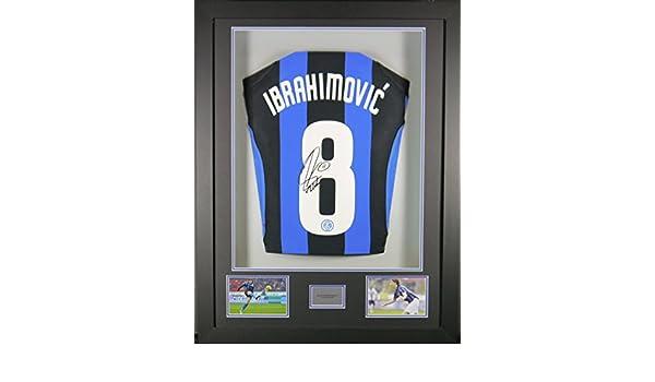 Zlatan Ibrahimovic Inter Milan Signed Shirt 3D Framed Display with COA   Amazon.co.uk  Sports   Outdoors cc86a08c5