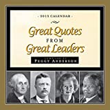 2015 Great Quotes from Great Leaders Boxed Calendar by Peggy Anderson (2014-07-01)