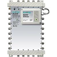 Axing SPU 516-09 SAT-Multischalter 16 Teilnehmer Premium-Line erweiterbar aktiv Quad-tauglich energiesparend (5 x 16)
