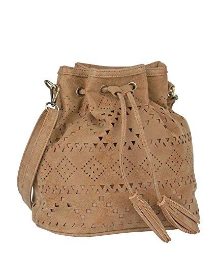 SIX-Festival-kleine-Tasche-Beutel-Damen-Handtasche-in-braun-beige-mit-Ikat-cut-out-Muster-und-Umhngegurt-mit-goldenen-Details-Tassel-463-367