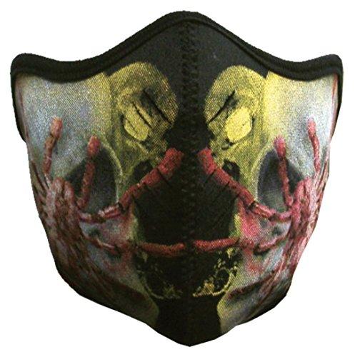 Biker Maske - Spider (Maske Spider)