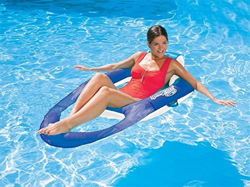 swimways-quality-spring-float-recliner-luxury-inflatable-pool-lounger-lilo-air-bed