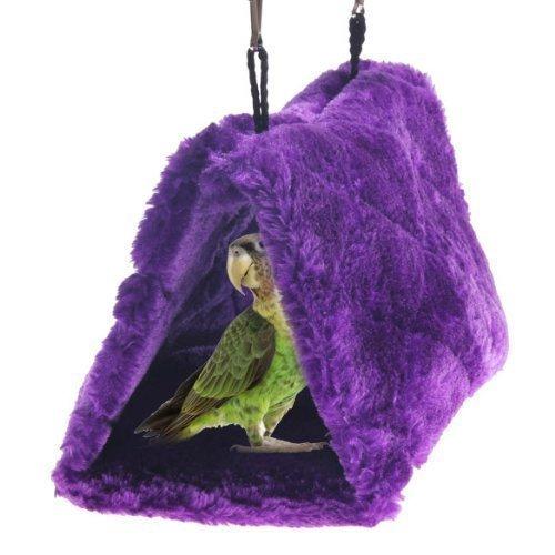 ESP Plüsch Pet Bird Hütte Nest Hängematte aufhängen Käfig Warm Nest Happy Snuggle Cave Zelt Medium