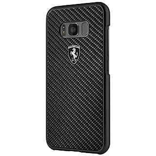 Ferrari FEHCAHCS8BK Heritage Schutzhülle für Samsung Galaxy S8, 13,20 cm (5,2 Zoll) schwarz
