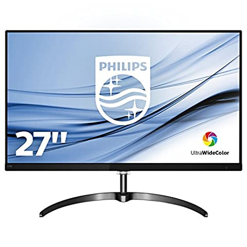 Philips Moniteur LCD QHD avec Ultra Wide-Color 276E8FJAB/00 - écrans plats de PC (68,6 cm (27