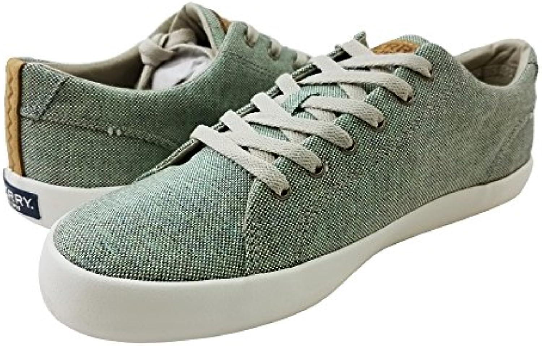 Sperry Top Sider Men's Wahoo LTT Confetti Fashion Sneaker  Green  8 M US