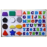 [Sponsored]Ratna's Educational Alpha, Numbers & Shapes For Kids. Let Them Learn The Combo Of Alphabet,number And Shapes