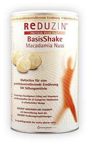 Reduzin Diät Shake - 25 Portionen BCM Macadamia Nuss