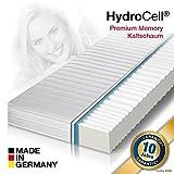 HydroCell 7 Zonen Memoryelastische Wellness Komfort Plus Marken Kaltschaum Matratze, beidseitig nutzbar, Klimafaserbezug, 7 Zonen und Größe wählbar (140 x 200 cm - 7 Zonen, H3)