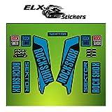 Pegatinas HORQUILLA Rock Shox Sektor 2016 ELX44 Stickers Aufkleber AUTOCOLLANT Decals Bicicleta Cycle MTB Bike 26