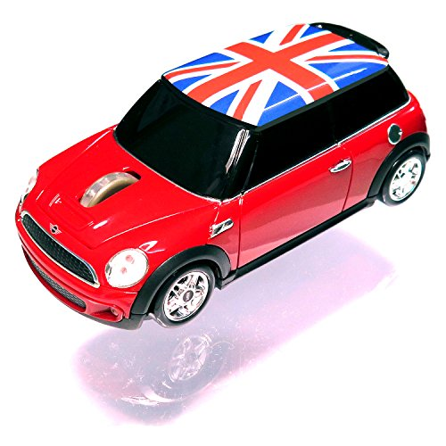 Lumenxtimely [Mini Cooper Official Products S] Wireless Mouse [Union Jack Jp F/S