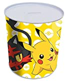 Pokemon hm-16-pk–Pikachu & Friends Gelb Münze Dose Box