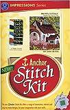 Anchor Stitch Kit - Brown Cottage