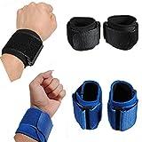 Moppi Ein Paar Sport Armbänder Wrist Supporter Wrap Handschlaufen