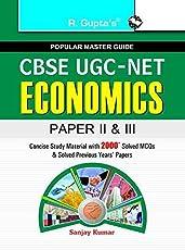 CBSE UGC-NET Economics: Junior Research Fellowship and Assistant Professor Exam Guide (Paper II & III) EDITION 2018