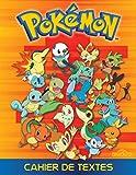 Cahier de textes Pokemon
