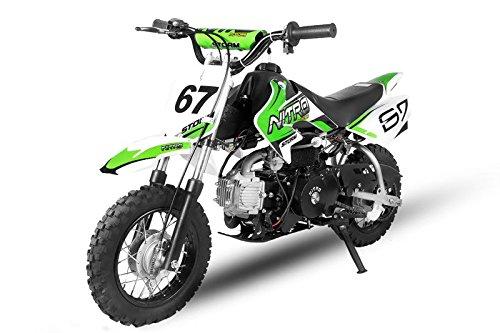 NEU Dirtbike 90cc Storm E-Start Automatik Crossbike Pitbike