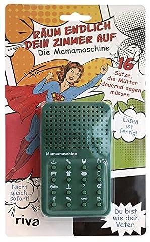 Räum endlich dein Zimmer auf – Mamamaschine