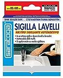 Versiegelt Spülen Saratoga mm.22x cm182Dichtband selbstklebend Schimmel für Spülen und Waschbecken