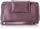 Best Buxton Cell Phone Accessories - Buxton Rfid Cell Phone Wristlet Wallet, Plum, One Review