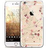 Coque iPhone 6S Plus,Coque iPhone 6 Plus,Surakey Motif fleurs de cerisier roses...