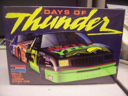 Mellow Yellow Chevy Lumina Stock Car Kit(1990)days of Thunder Series by Monogram