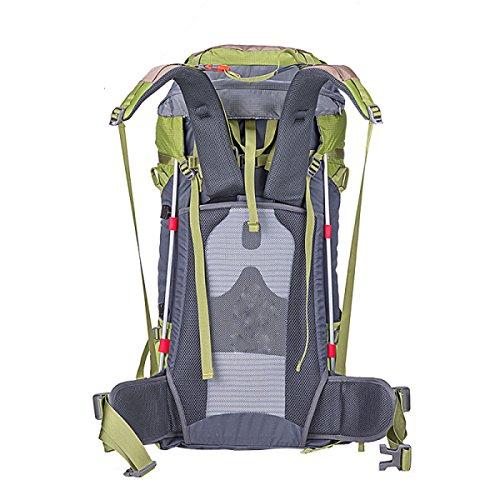 XINMING2017 Neu Rucksäcke Outdoor Klettern Mode Bergsteigen Taschen,Blue Green