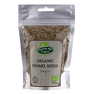 Organic Fennel Seeds 100g by Hatton Hill Organic - Certified Organic