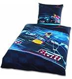 Global Labels G 58 600 RB3 120 Red Bull Racing Renforce Bettwäsche 135 x 200 cm Bettbezug und 80 x 80 cm Kissenbezug