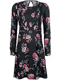 Vive Maria Victorian Rose Dress Robe noir