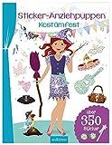 Sticker-Anziehpuppen - Kostümfest