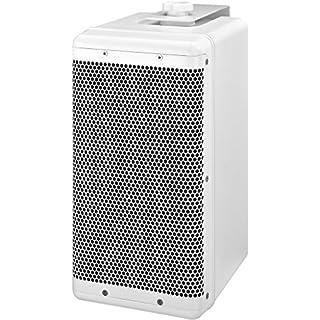 MONACOR PAB-6WP/WS Wetterfeste Hochleistungs-ELA-Lautsprecherbox, 100 W weiß