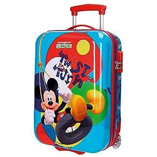 Disney Mickey Twist Equipaje Infantil, 50 cm, 26 Litros, Multicolor