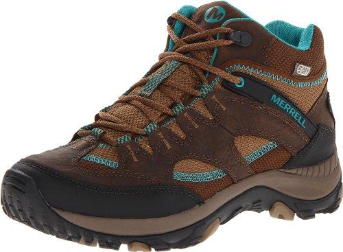 Merrell Salida Mid Waterproof Chaussures de randonnée Dark Earth