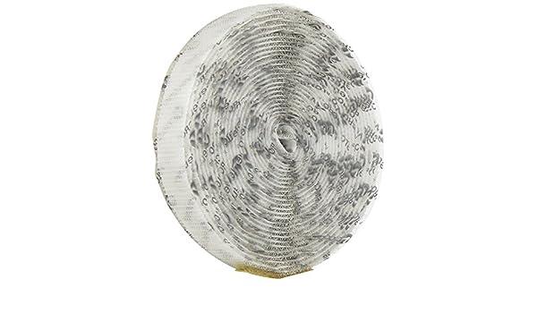 Hook Type Pressure Sensitive Adhesive Back 30 Length VELCRO 1012-AP-PSA//H White Nylon Woven Fastening Tape 5//8 Wide
