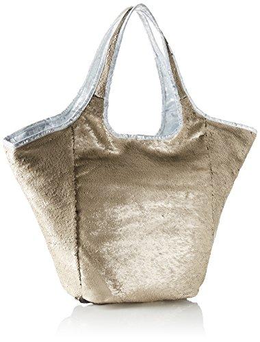 Xyxyx Sequins Bag, sac bandoulière Mehrfarbig (Taupe/Carbon)