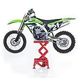 ConStands - Hubständer Motocross XL Hydraulisch Rot Suzuki RM 125/250, RM 85/125/ 250/ L, RMX 450 Z