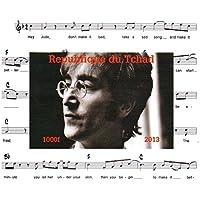 I Beatles francobolli da collezione - John Lennon Imperforate miniatura francobollo minifoglio - condizioni superbe e mai incernierate - 2013 / Ciad / 1000F
