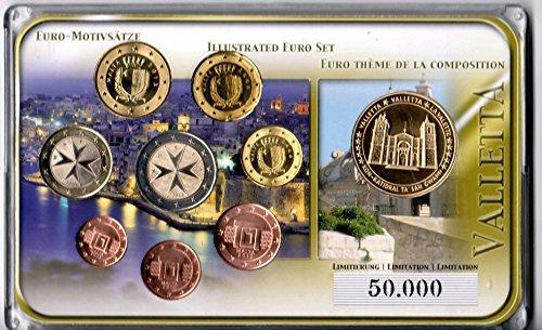 euro-motivsatz-malta-valletta-2008-incl-sonderpragung-valletta-auflage-50000-stuck