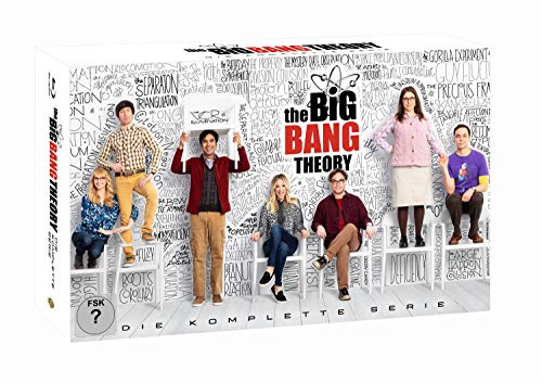 Cover The Big Bang Theory S1-12 Ultimate Collector's Edition [Blu-ray]