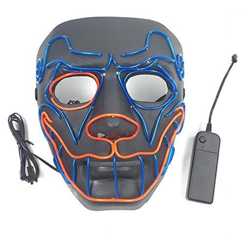 Geist maske LED Halloween Masken Erschreckend LED Leuchten Maske Partei Maske Kostüme Mask für Karneval Festival Party by Futurepast