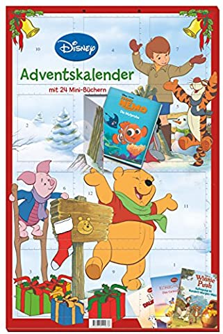 Disney Minibuch-Adventskalender 2016: 24 tolle Minibücher zur Adventszeit