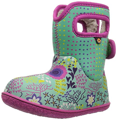BOGS Baby Farm Kids Wellies Grey Multi